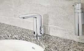 Integrated commercial faucet from American Standard