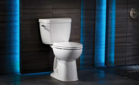 Side-handle toilet from Niagara
