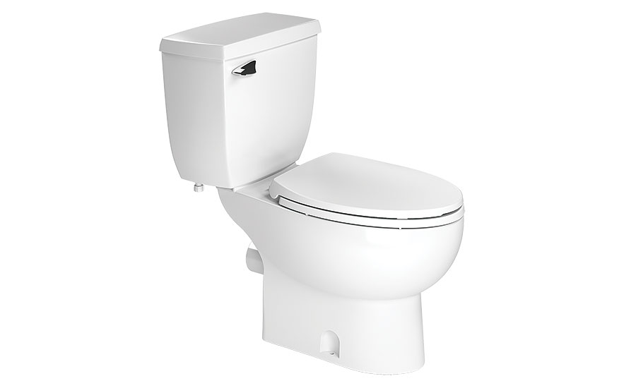 Vitreous china toilet bowls from Saniflo