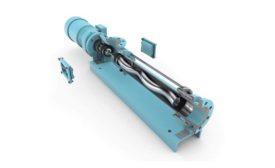 Allweiler Industrial wastewater treatment pump