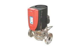 Stainless steel vertical in-line pumps