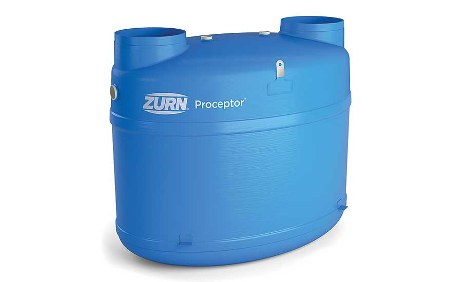 Zurn Fiberglass gravity grease interceptor