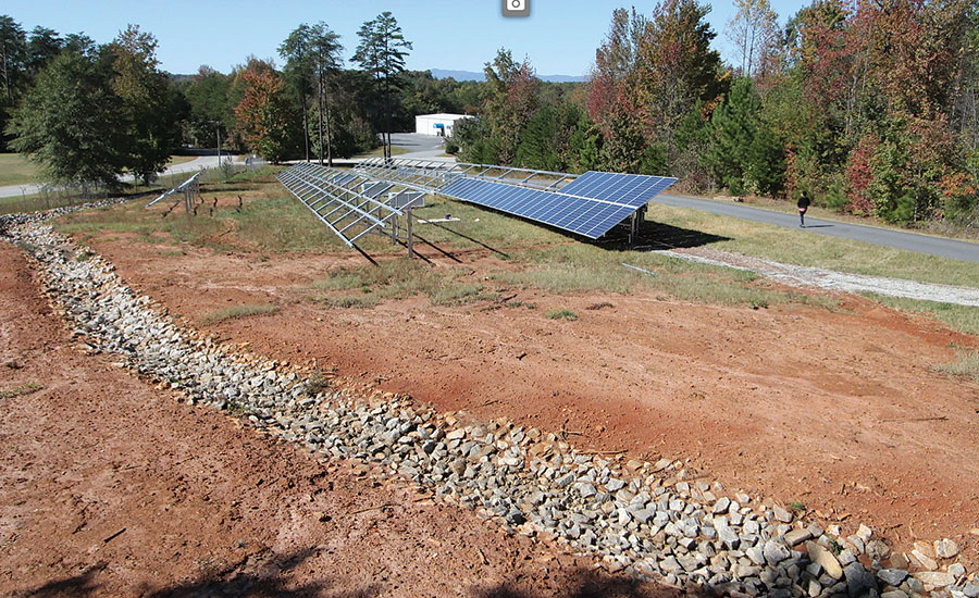 T&S Brass installs solar panels at company headquarters