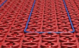 Electric radiant heating on the rise