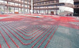 Expanded PEX diameter piping finds traction in commercial projects