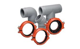 Grooved mechanical system from Victaulic