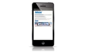 Snow and ice melting app from tekmar