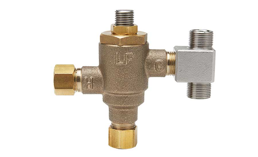 Mixing valve from Leonard Valve