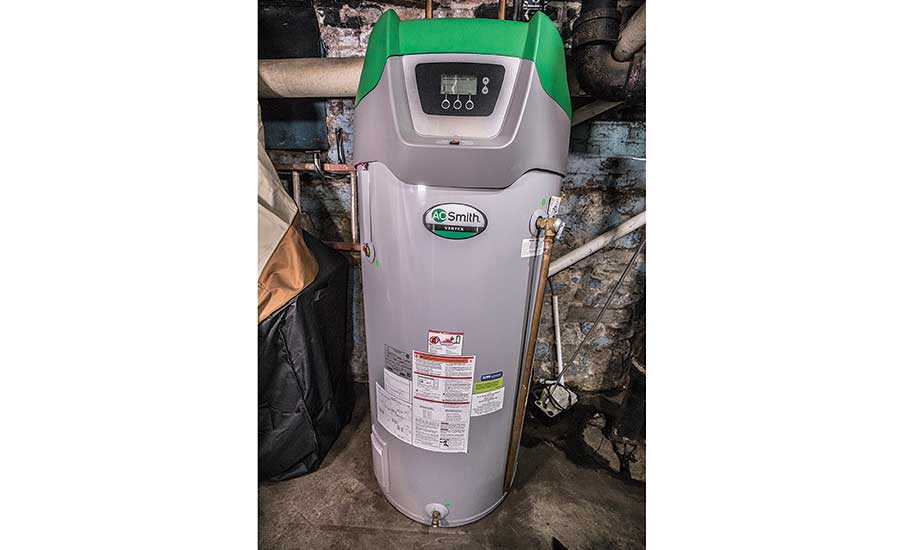 A. O. Smith donated Vertex water heaters for both of Inner Voice's facilities