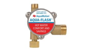 Hot-water recirculation from AquaMotion