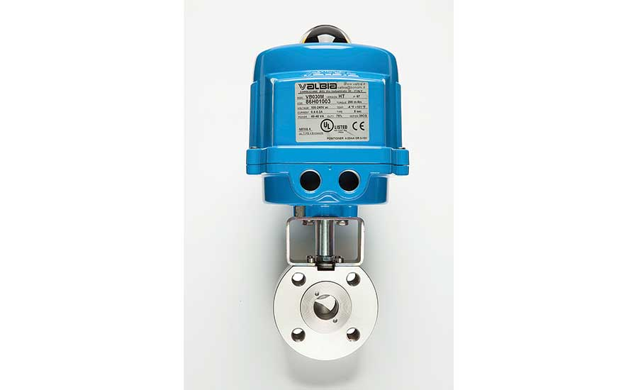 V-port ball valve from Bonomi North America