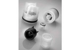 Plastic cartridge check valves from NEOPERL