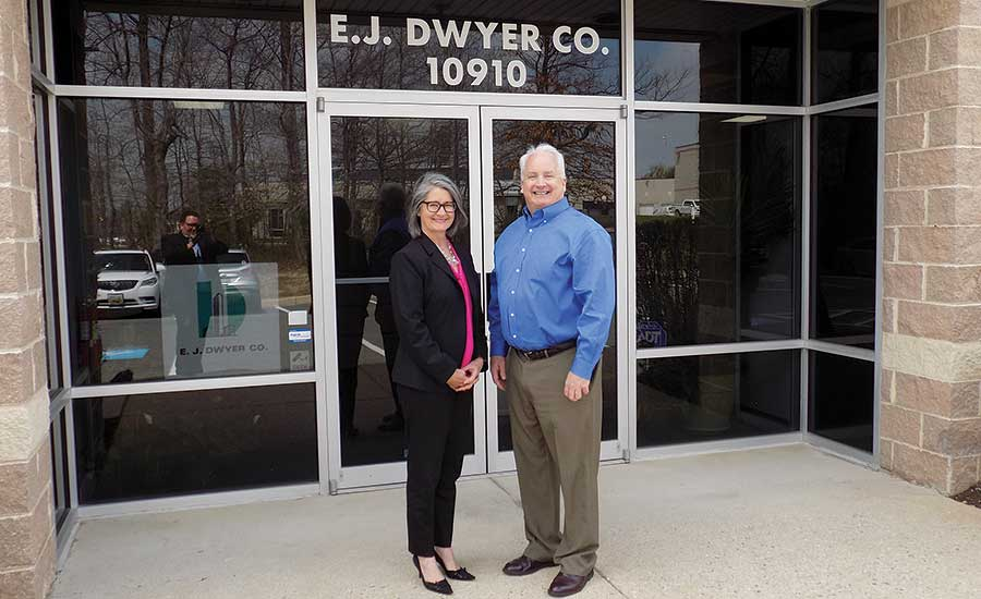 Kathy and Ned Dwyer are second-generation leaders at Annapolis Junction, Maryland-based E.J. Dwyer Co.