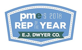 pme 2018 Manufacturers Rep of the Year: E.J. Dwyer Co.