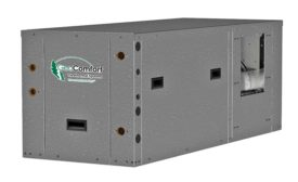 Horizontal packaged geothermal system from Enertech