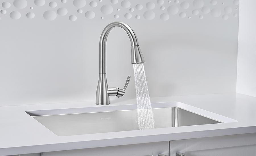 Pull-down faucet from Blanco