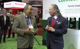 Taco presents the Dan Holohan Comfort Award at AHR Expo