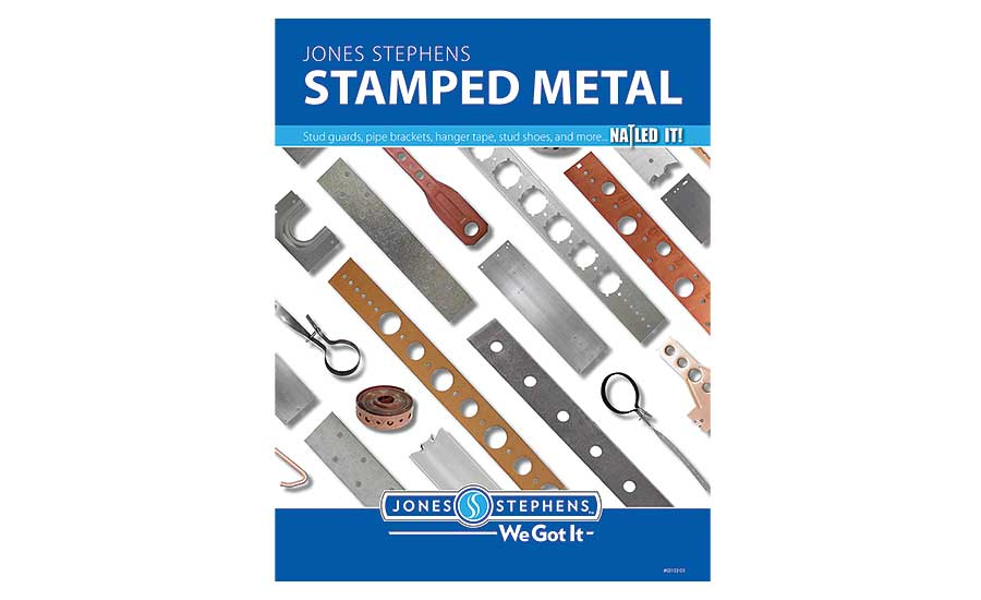 Stamped-metal product line from Jones Stephens