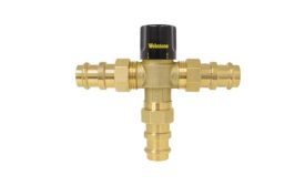 Thermostatic mixing valve from Webstone Valves