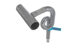 Flexible sprinkler drop from Flexhead Industries