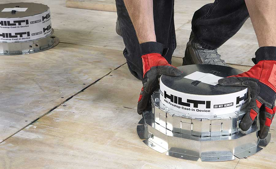 Firestop solution from Hilti