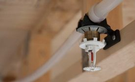 Residential fire sprinkler system from Uponor