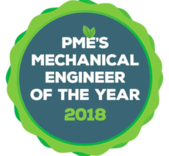 pme's 2018 Mechanical Engineer of the Year