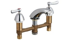 Modern commerical faucets from Chicago Faucets