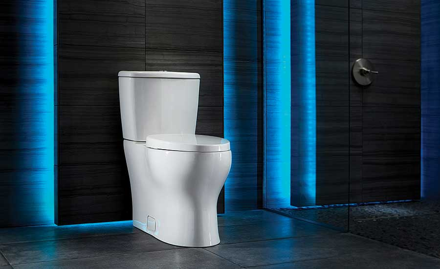 Single-flush toilet from Niagara
