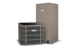 Air-sourced heat pump from Bosch