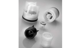 Plastic cartridge check valves from NEOPERL