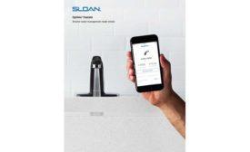 Enhanced sensor faucet from Sloan