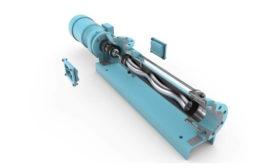 Allweiler's OptiFix industrial wastewater treatment pump