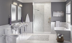 Bathroom fixtures and faucets from American Standard
