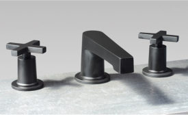 Widespread faucet and matching accessories from Newport Brass