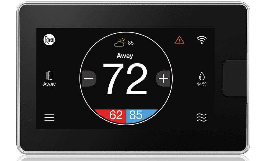 Smart thermostat from Rheem