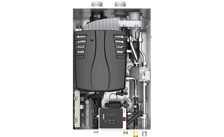 Self-calibration mode tankless water heater from Vesta