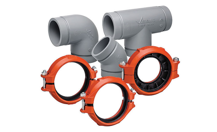 System solution for CPVC pipe from Victaulic