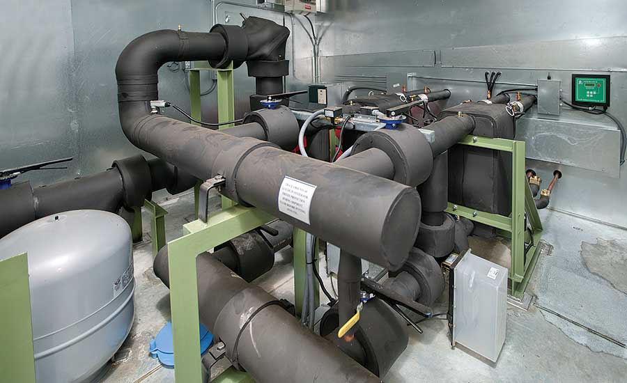 Within each Technical Systems' air-to-water heat pump