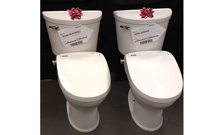 New American Standard toilets