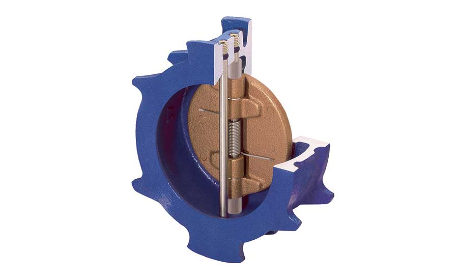Dual disc check valve from Val-Matic