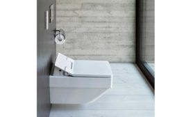 Water-efficient, hygienic tech from Duravit