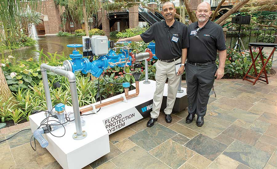 Watts presents innovative water solutions