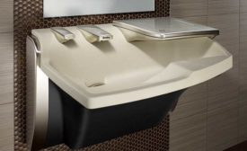 Touchless lavatory system from Bradley