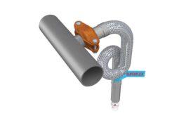 Flexible sprinkler drop assembly couplings