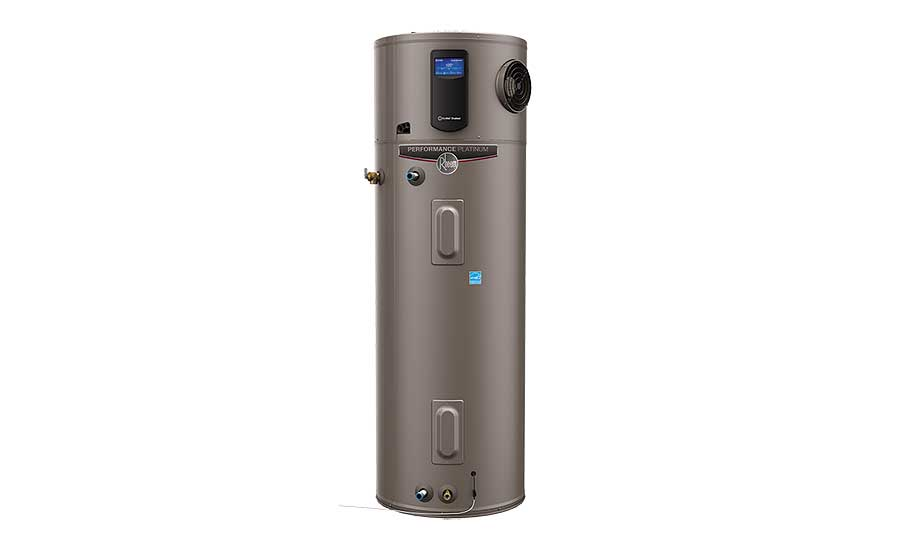 New hybrid electric water heater from Rheem.