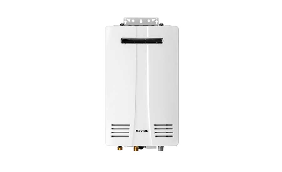 New tankless water heaters from Navien.