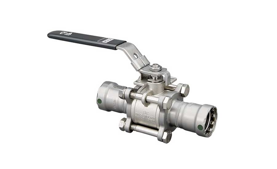 New ball valves from Viega.