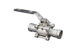 New ball valves from Viega.