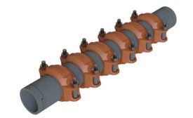 Victaulic pipe expansion joint